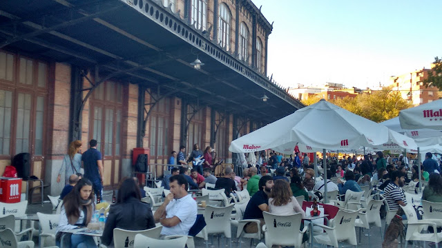 Mercado de Motores. Terraza