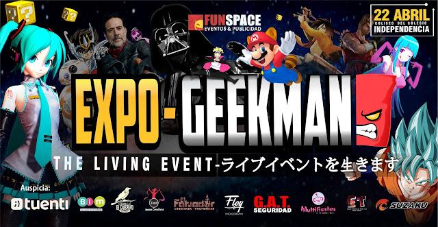 Expo-Geekman Arequipa