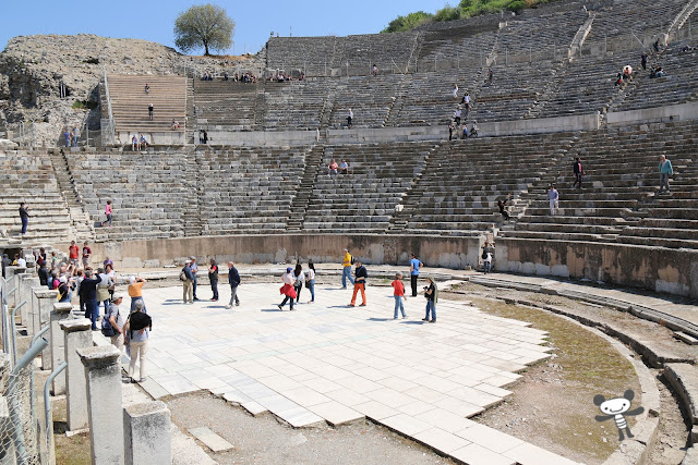 Ephesus Theatre in Kusadasi, Turkey