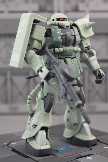 Katsuden's Collect'emALL: Real Grade (RG) Standard Green ...