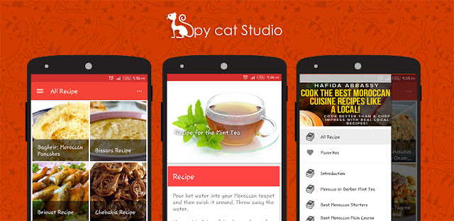 Android Recipe App For Google Play Store