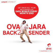 How can I transfer airtime from Airtel to Airtel