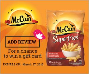 Chickadvisor McCain Brand Challenge