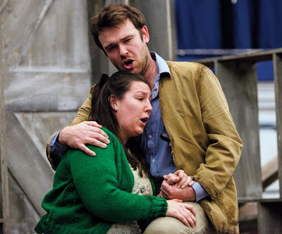 Kirsty Taylor-Stokes, Luke Sinclair - Delius: A Village Romeo and Juliet - New Sussex Opera (Photo Robert Knights)
