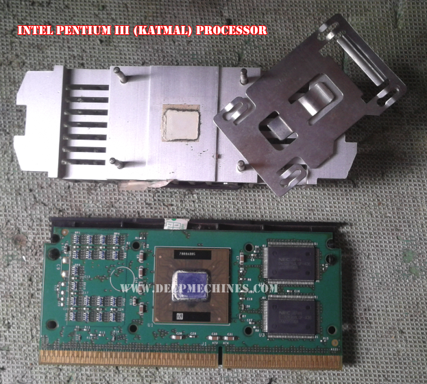 Gambar dan Keterangan Prosesor Intel Pentium III (Katmal)