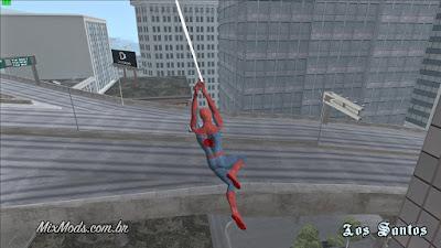 gta sa san andreas spider-man ps4 mod j16d web swing