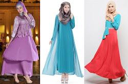 20 Model Dress Batik Terbaru 2016 2017. 15 Gaun Pesta Muslim Terbaru b89d146255