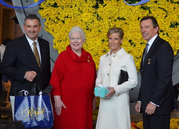 Sophie, Countess of Wessex visited the 93 rd annual Royal Agricultural Winter Fair in Toronto