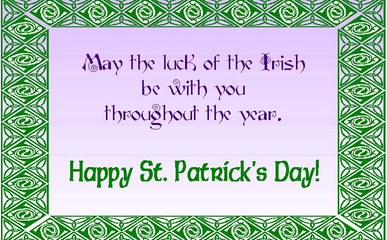 Happy St. Patrick's Day 2017 Good Luck Images Quotes  HD Wallpaper  St. Pat...