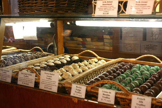 Chocolate truffles galore at Lagomarcino's