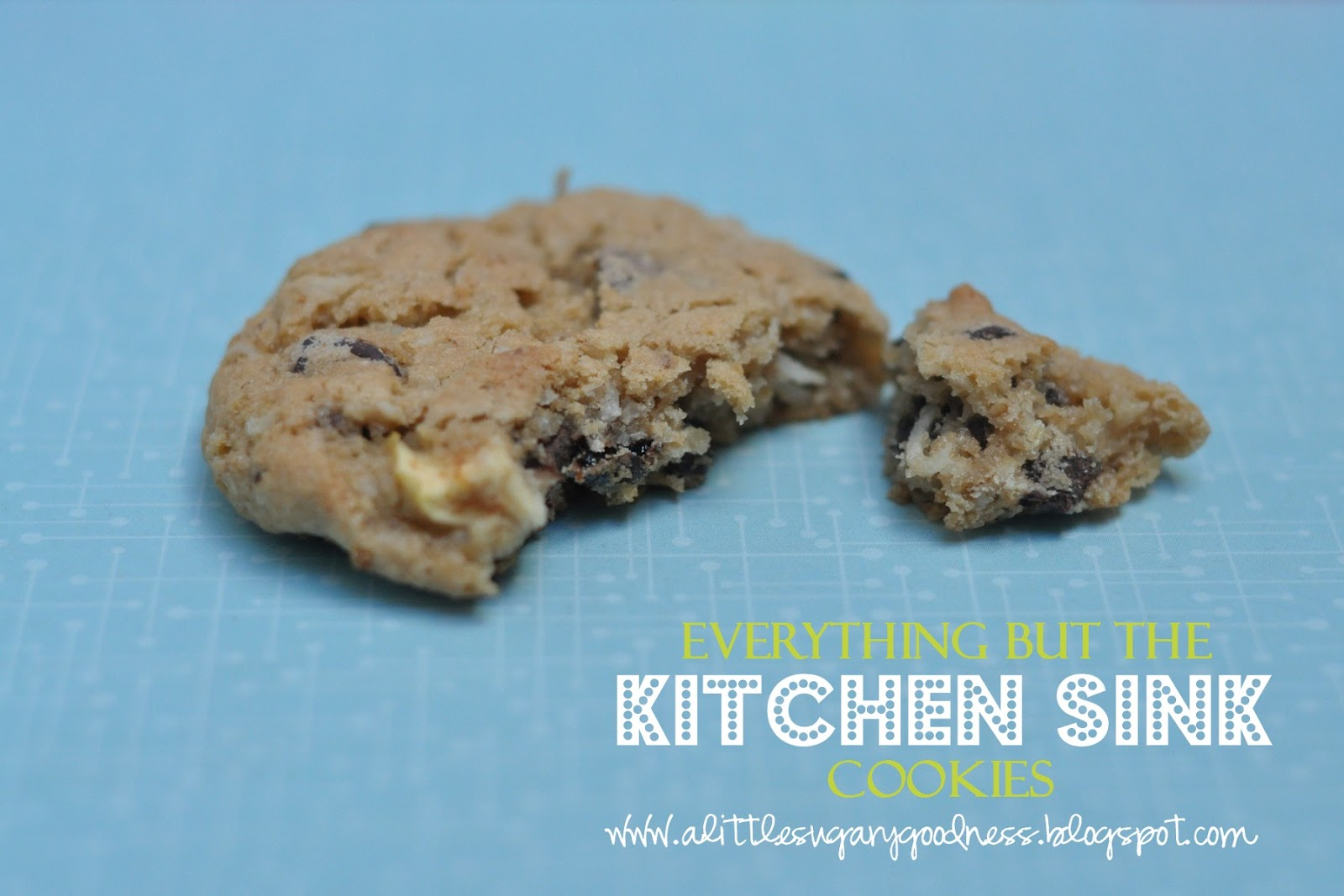 everything but kitchen sink cookies a sugary goodness everything but the kitchen sink 8886