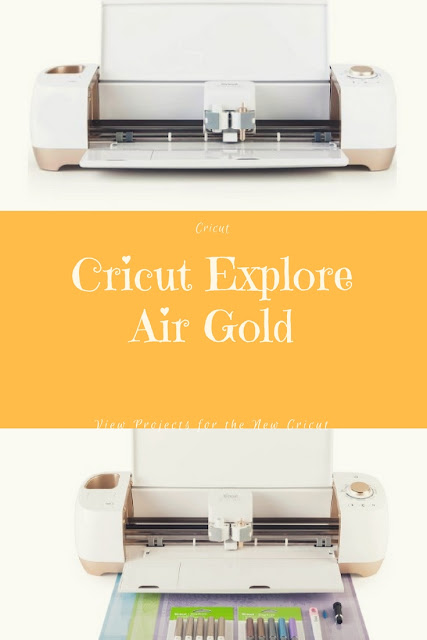 New Gold Cricut Explore Air Machine