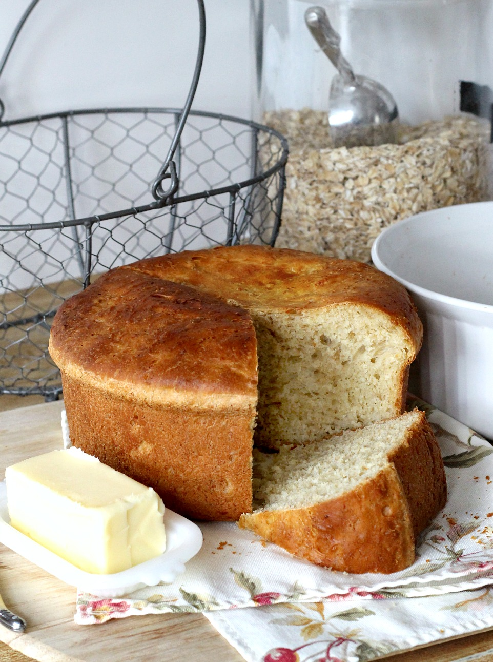 Or Sometimes When I Want To Serve Something Extra To Round Out A Meal The Appetizing Aroma Of Honey Oat Casserole Bread With Its Tender