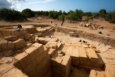 «Αποκαλύπτεται» το ελληνιστικό θέατρο του Ακράγαντα στη Σικελία