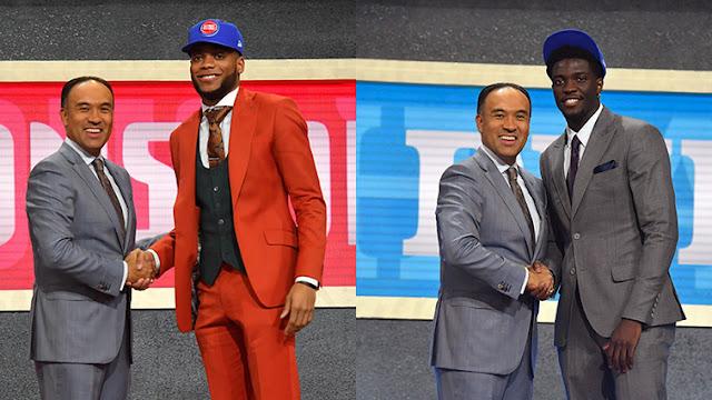 Les rookies Bruce Brown et Khyri Thomas | PistonsFR, actualité des Detroit Piston en France