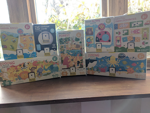 Games and Puzzles for the Kids this Holiday Season from Banana Panda #MBPHGG18