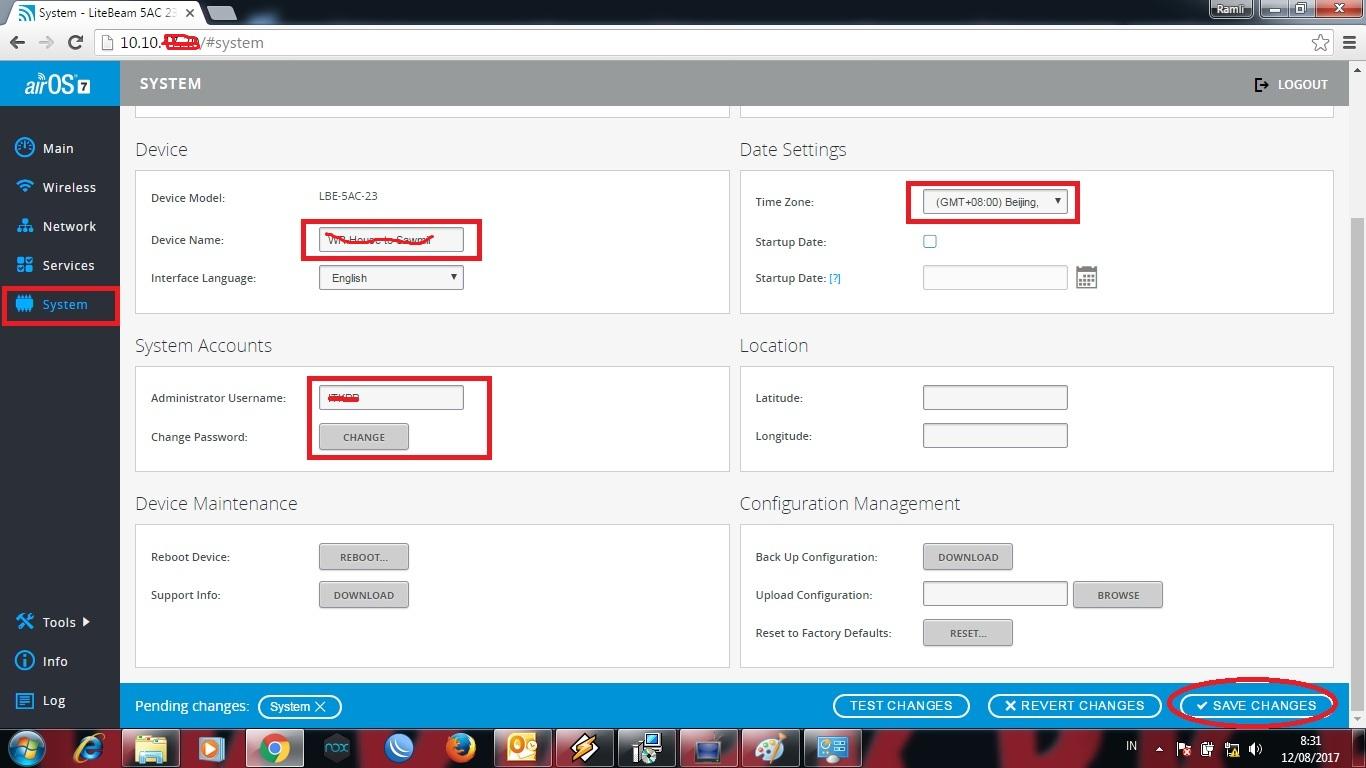 Cara Setting Dan Konfigurasi Antena Litebeam 5ac 23dbi Sebagai Acces Ubiquiti M5 23d Lbe 23 Sekarang Sudah Selesai Di Hubungkan Yang Disetting Ke Perangkat Router Pastikan Jaringan