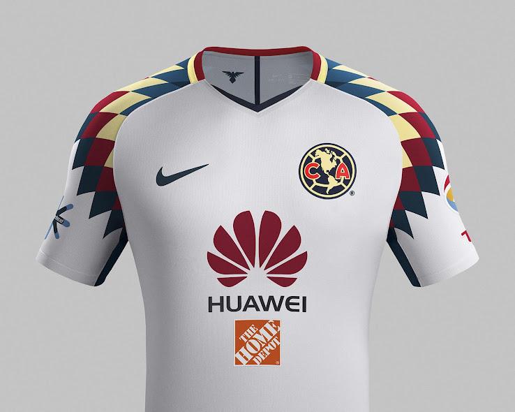 e6fe8055e Nike Club América 17-18 Away Kit Released - Footy Headlines