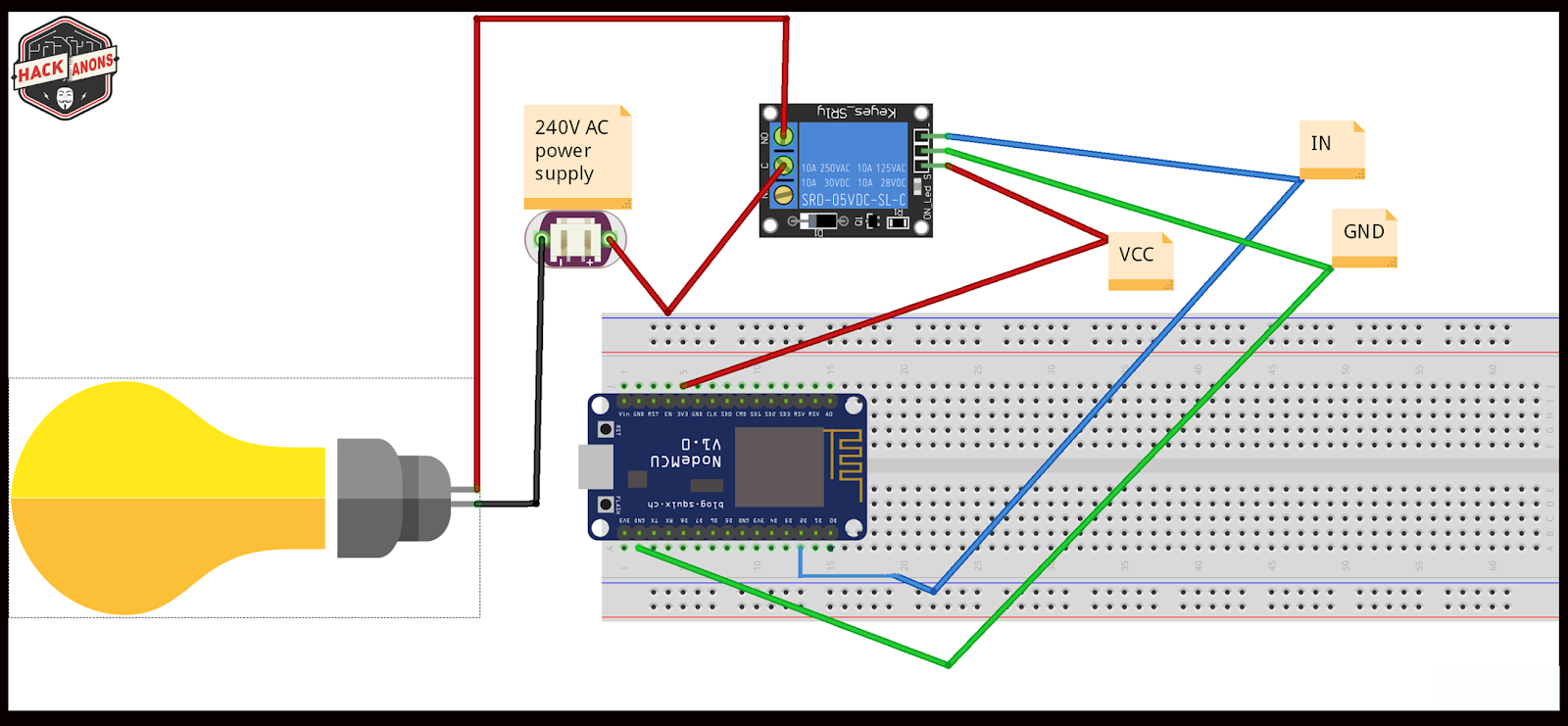 Iot With Firebase Home Automation Light Control Using Google Diagram Arduino Wiring Esp8266 Connecting