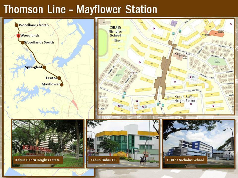Mayflower MRT Station near thomson impressions