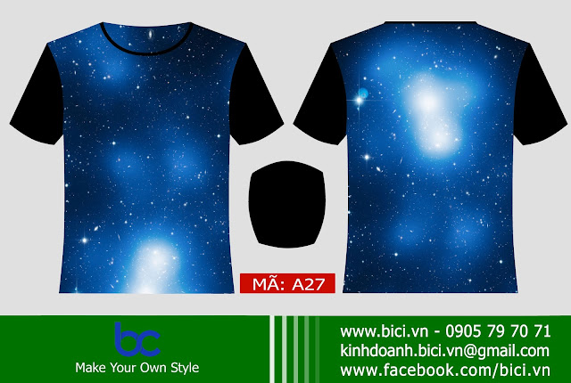 mẫu áo galaxy