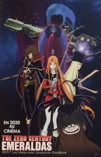 تقرير فيلم القرن صفر: ايميرالداس الأول Zero Seiki Movie 1: Emeraldas