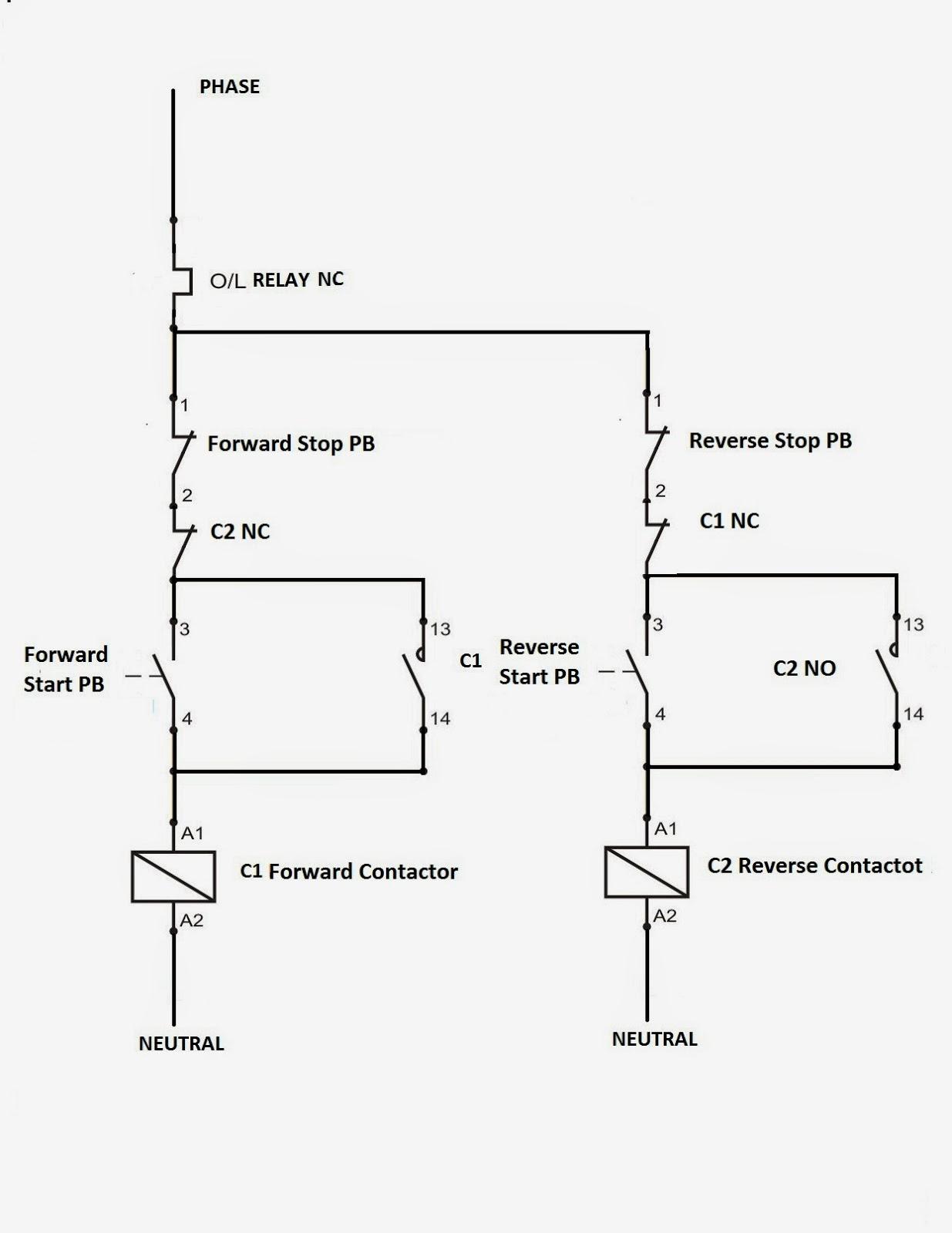 Direct Motor Starter Diagram  impremedia