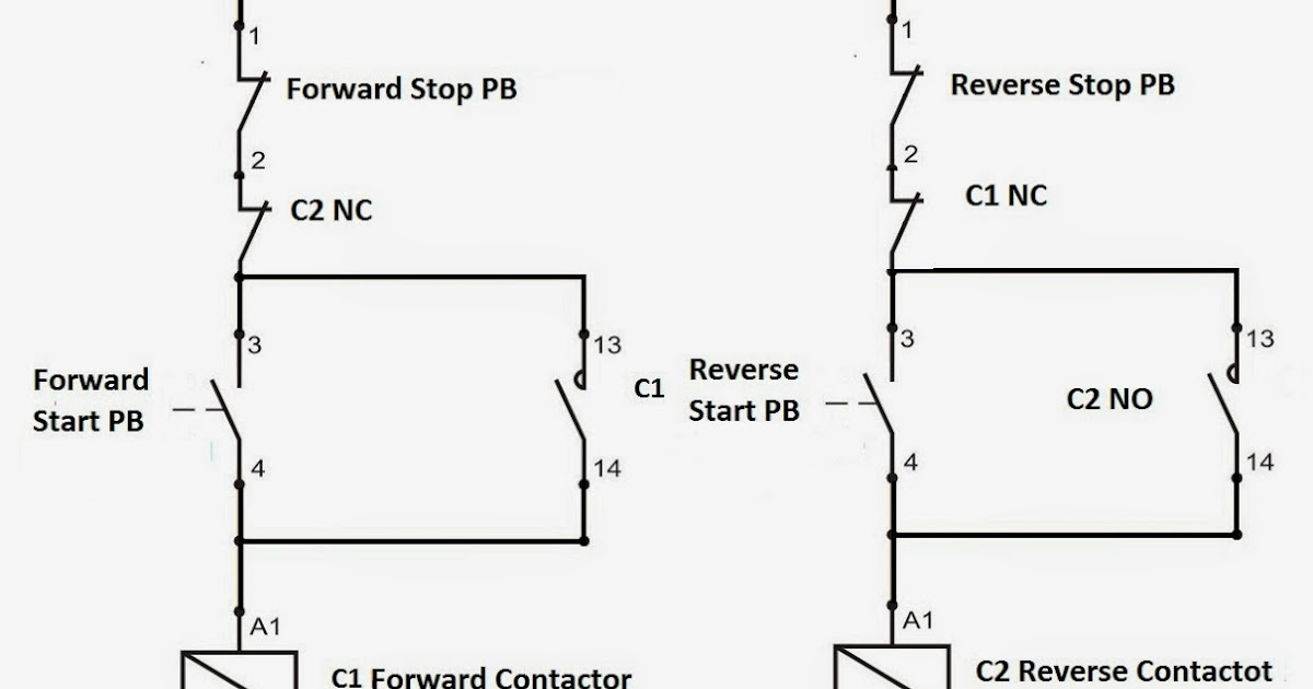 Forward Reverse Motor Wiring Diagram Forward Reverse Motor