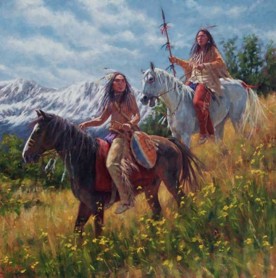 White Wolf : 20 James Ayers outstanding paintings of ...