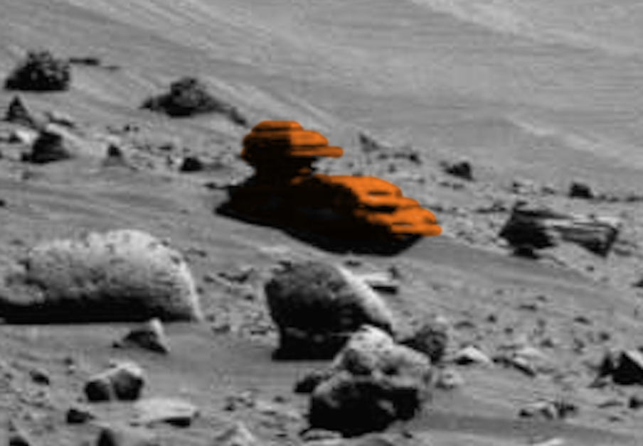 UFO SIGHTINGS DAILY: Alien Outpost Found Near Mars Rover ...