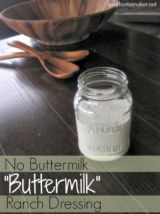 "no buttermilk ""buttermilk"" ranch dressing"