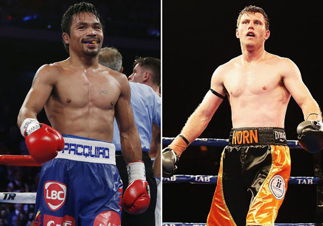 WBO World Welterweight Title: Jeff Horn vs Manny Pacquiao (12 Rounds) Tonight On DStv