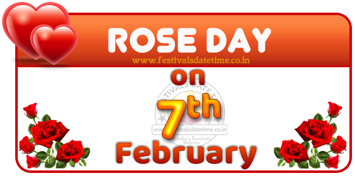 Rose Day Date in Valentine Week