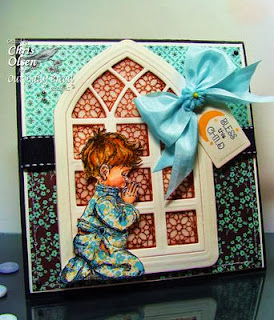 ODBD Products - ODBD Custom Cathedral Window and Border Dies, Precious Boy, ODBD Custom Recipe Card and Tags Die, Cathedral Window - Marble