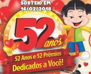 Promoção Iquegami Supermercados 2017 2018 52 Anos 52 Prêmios Aniversário