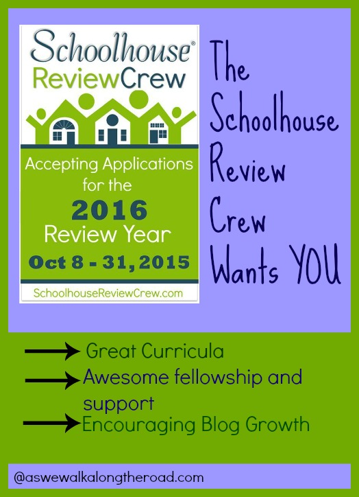 Review homeschool curriculum and products with the 2016 Schoolhouse Review Crew