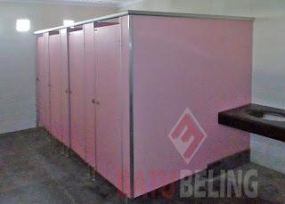 Cubicle Toilet di RS. PKU Muhammadiyah Sleman