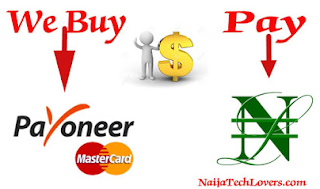 Sell Your Payoneer Dollars At The Profitable Rate In Nigeria Naira