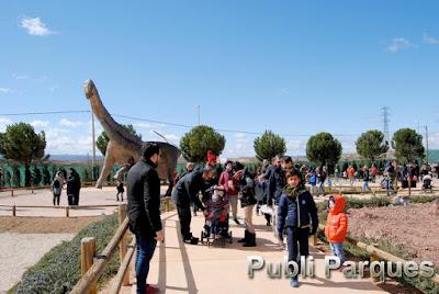 Nuevas esculturas Tierra Magna Dinópolis Semana Santa 2018