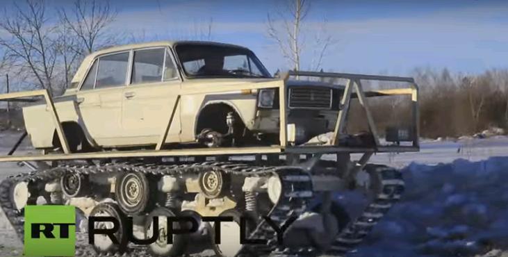 Lada Tank - Một sáng chế ấn tượng nữa của người Nga