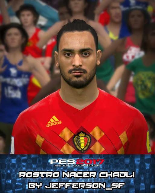 Nacer Chadli Face PES 2017