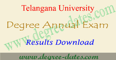 TU degree results 2018 Telangana university ug result date