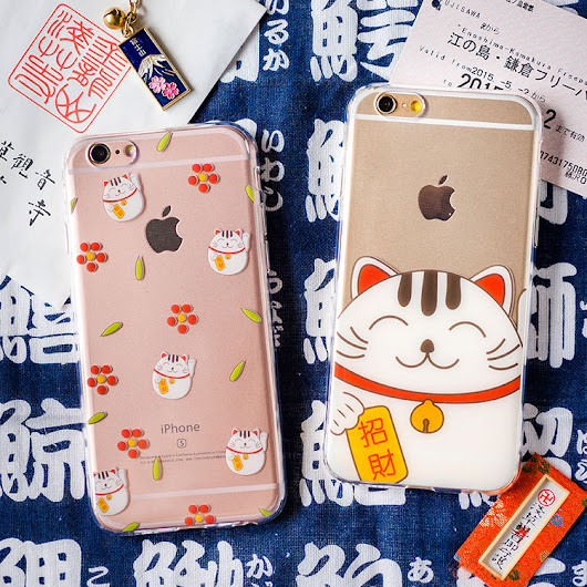#6359: Fortune cat/s iPhone 6 case — $16.00