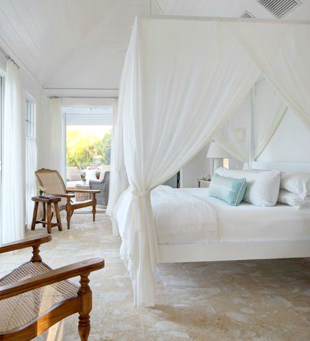 Ideas for Draping Canopy Bed