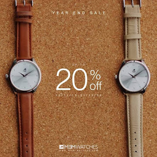 Year End Sale (YES) Jam Counterclockwise sebanyak 20%?? WOW!!!