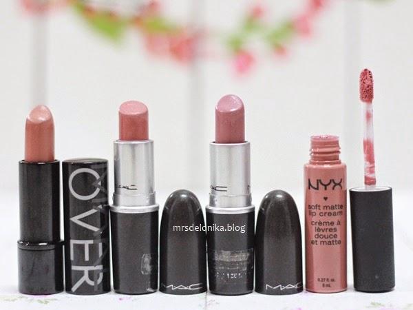 Mrs Delonika My Nude Brown Daily Lipsticks