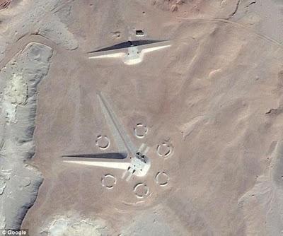 Struktur Bangunan Aneh Misterius Ditemukan di Mesir