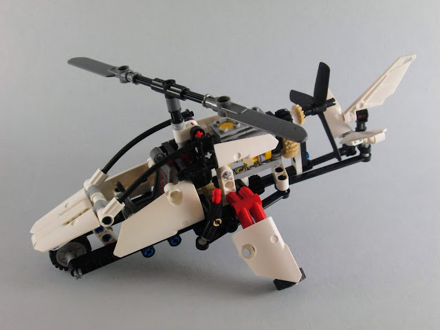 Set LEGO Technic 42057 Ultralight Helicopter