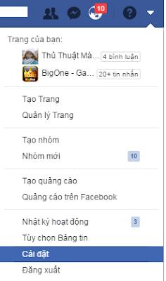 chỉ cách để khóa tài khoản facebook khi không cần dùng đến