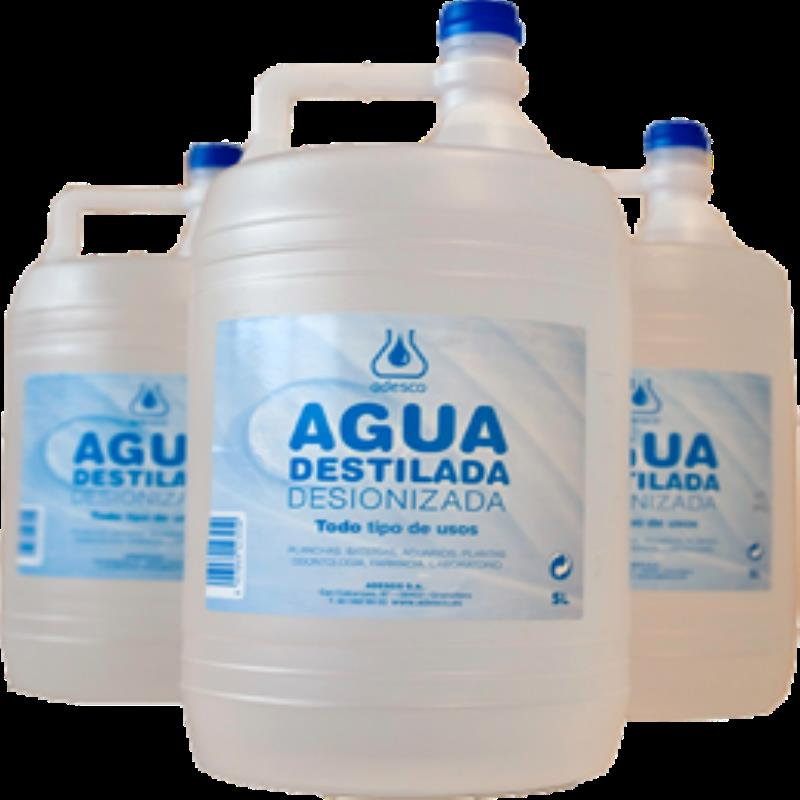 agua destilada para perder peso
